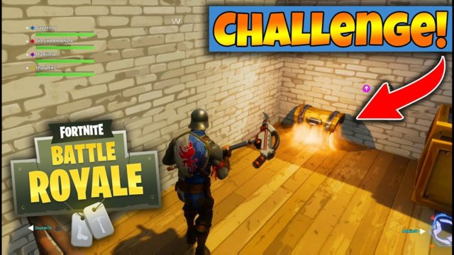 CHEST ONLY CHALLENGE! | Fortnite Battle Royale