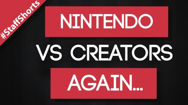 ★Nintendo bans live-streaming! #Freedomfamily #Staffshorts
