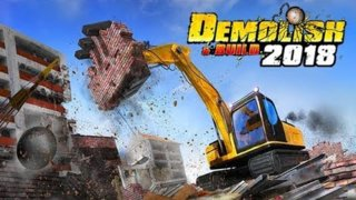 DEMOLISH AND BUILD 2018 (LIVE) - CONHECENDO O GAME (pt-br)