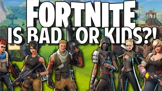 Is Fortnite Bad for Kids?!