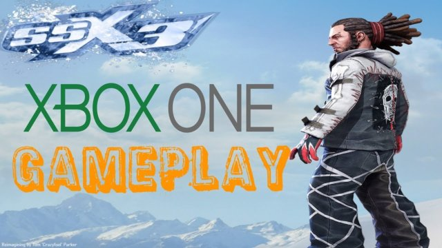 SSX 3 Xbox one Gameplay!