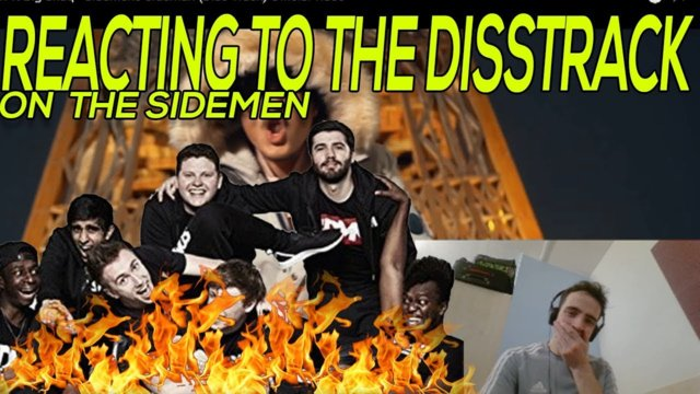Reacting to Disstrack on  the Sidemen - KSI WILL BE MAD - Ft. Big Shaq