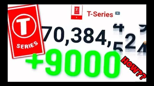 How t-series got 9000 subscribers in one second (ANSWERED!!)