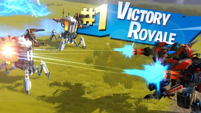 VICTORY ROYALE | Robocraft