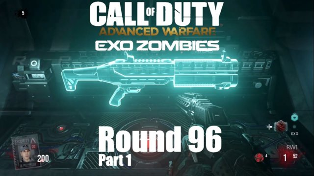 Call of Duty Advanced Warfare Exo Zombies